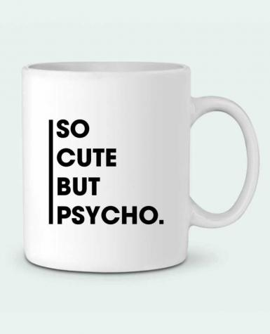 Ceramic Mug So cute but psycho. by tunetoo