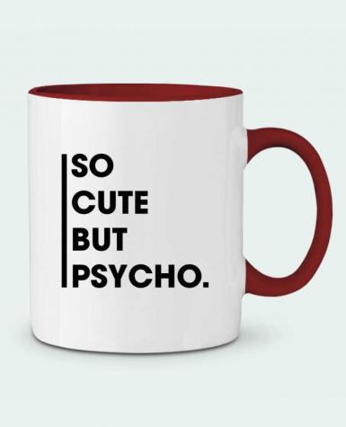 Two-tone Ceramic Mug So cute but psycho. tunetoo