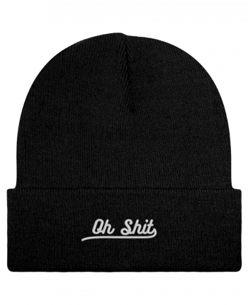 Reversible Beanie Oh shit by tunetoo