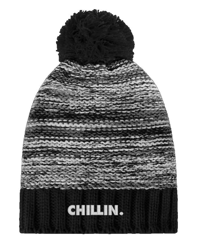 Bobble Hat Slalom boarder Chillin. by tunetoo