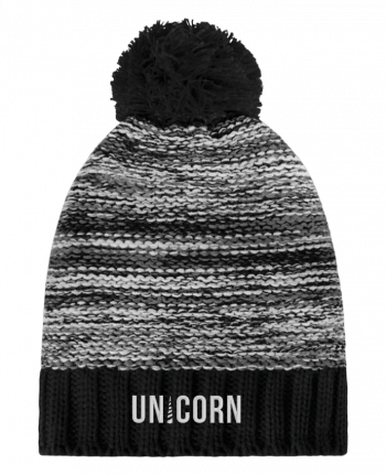 Bobble Hat Slalom boarder Unicorn by tunetoo