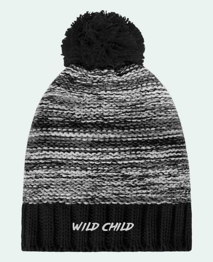 Bobble Hat Slalom boarder Wild Child by tunetoo