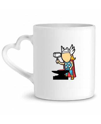 Mug Heart Metal Factory by flyingmouse365