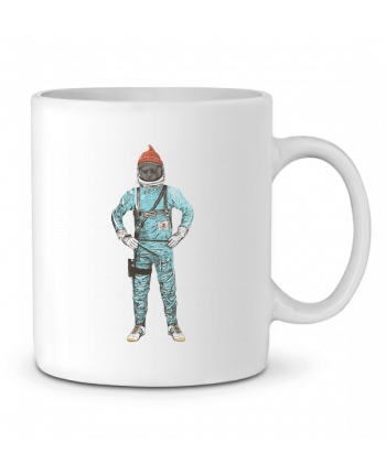 Ceramic Mug Zissou in space by Florent Bodart