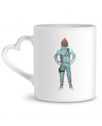 Mug Heart Zissou in space by Florent Bodart