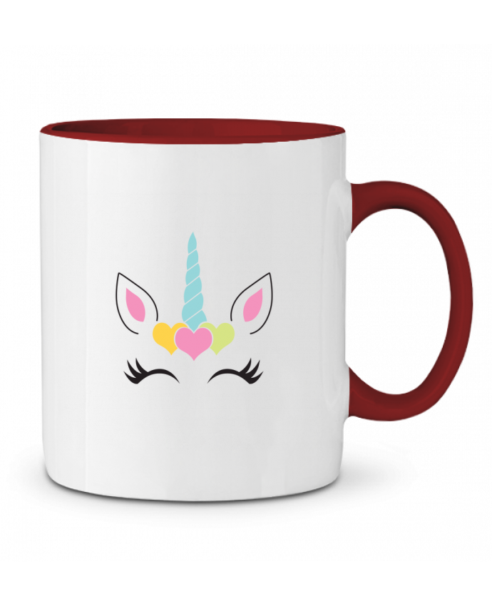 Two-tone Ceramic Mug Unicorn tunetoo