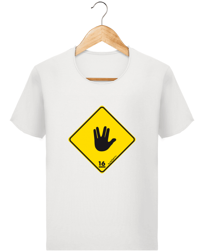 T-shirt Men Stanley Imagines Vintage Startrek Main Signe by Zorglub