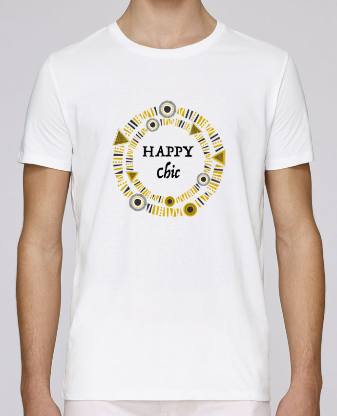 T-shirt crew neck Stanley leads Happy Chic by LF Design