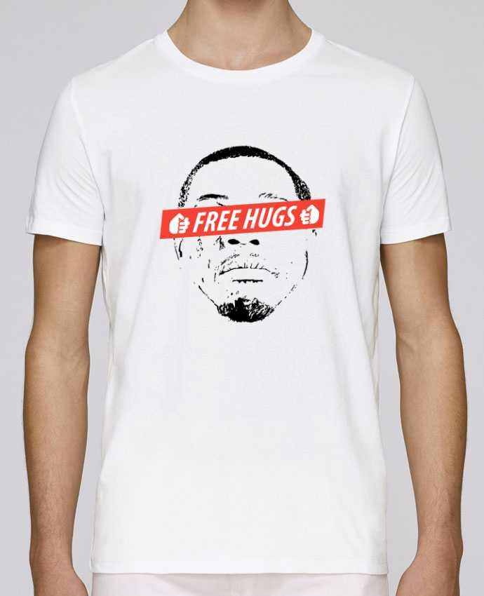 Unisex T-shirt 150 G/M² Leads Free Hugs by tunetoo