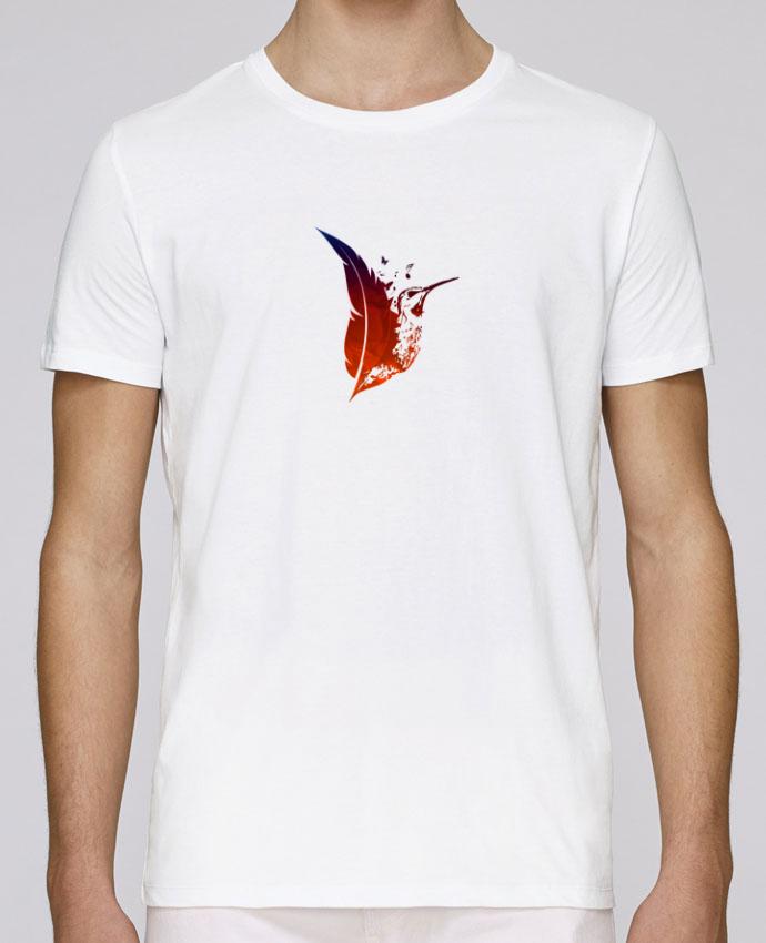 Unisex T-shirt 150 G/M² Leads plume colibri by Studiolupi