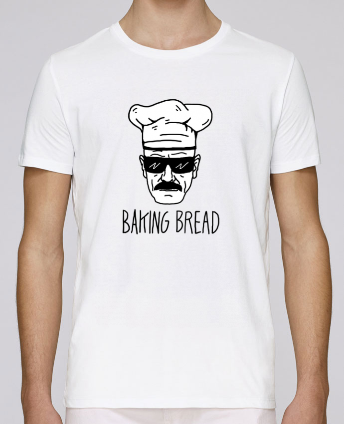 T-shirt crew neck Stanley leads Baking bread by Nick cocozza