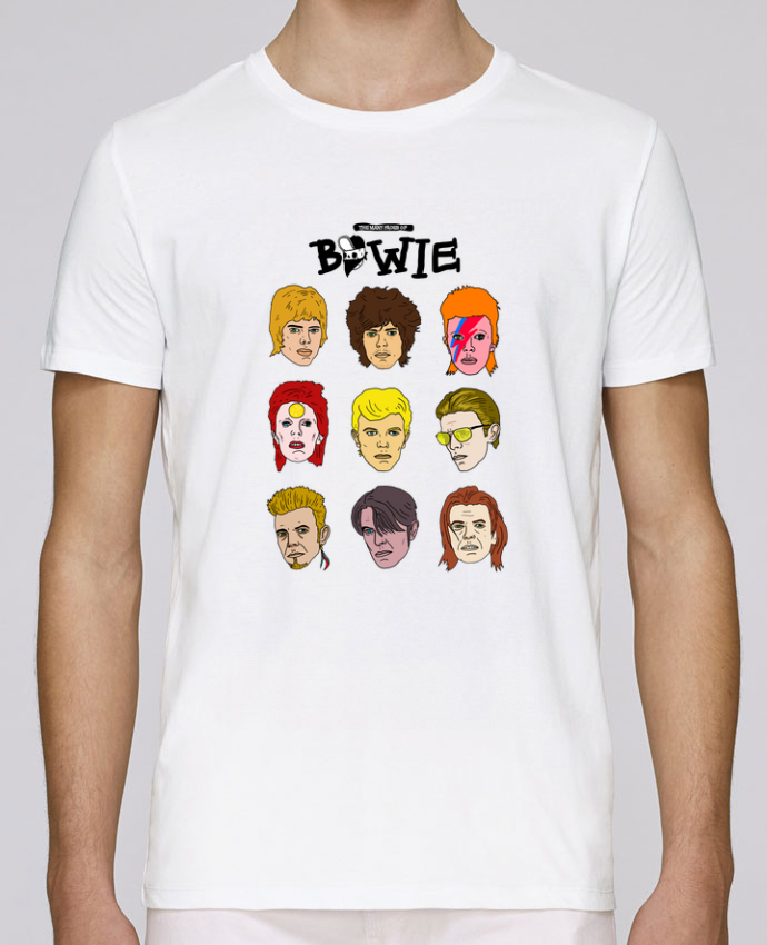 Unisex T-shirt 150 G/M² Leads Bowie by Nick cocozza