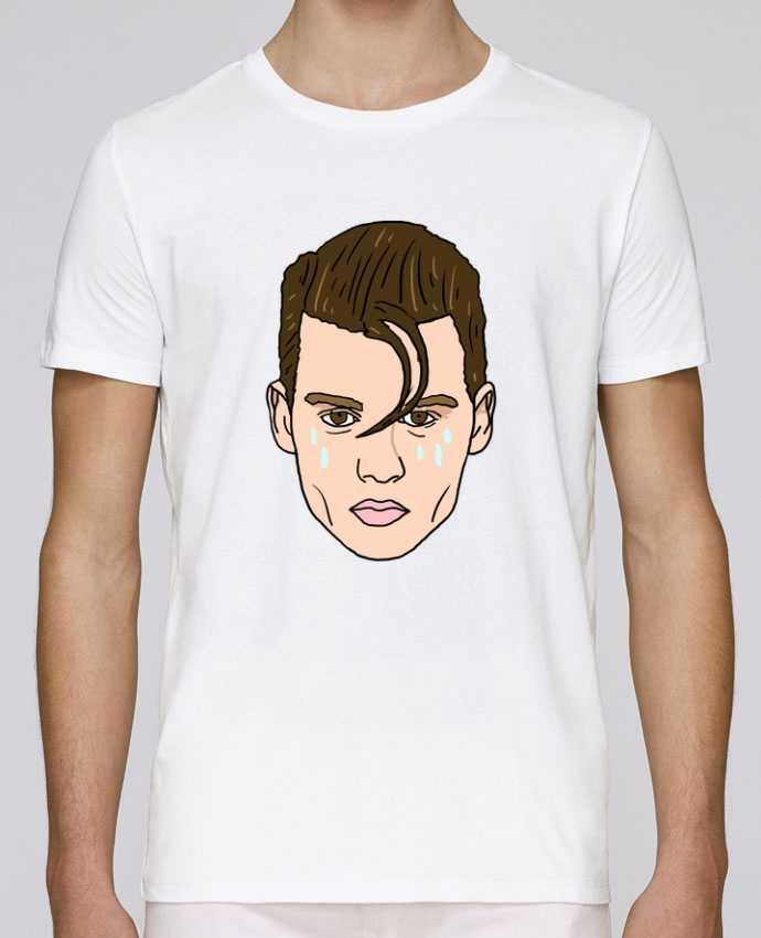 Unisex T-shirt 150 G/M² Leads Cry baby by Nick cocozza