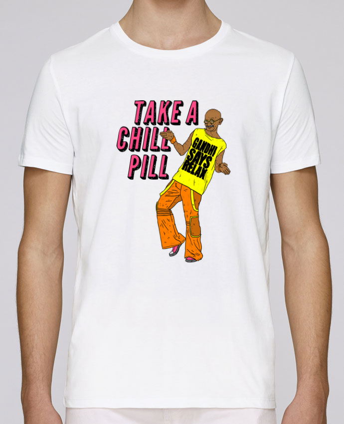 Unisex T-shirt 150 G/M² Leads Chill Pill by Nick cocozza