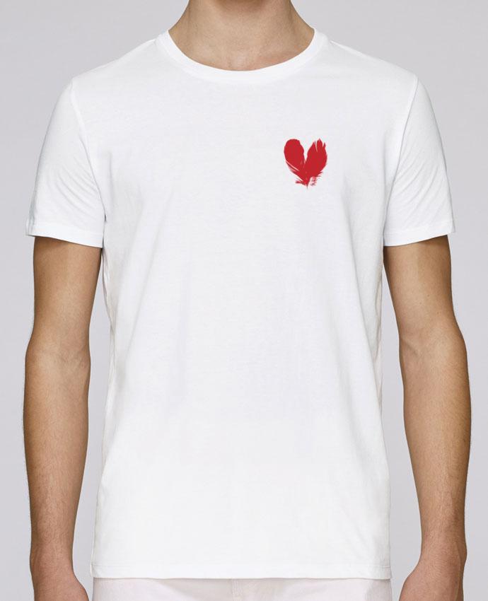 Unisex T-shirt 150 G/M² Leads coeur de plumes by Studiolupi