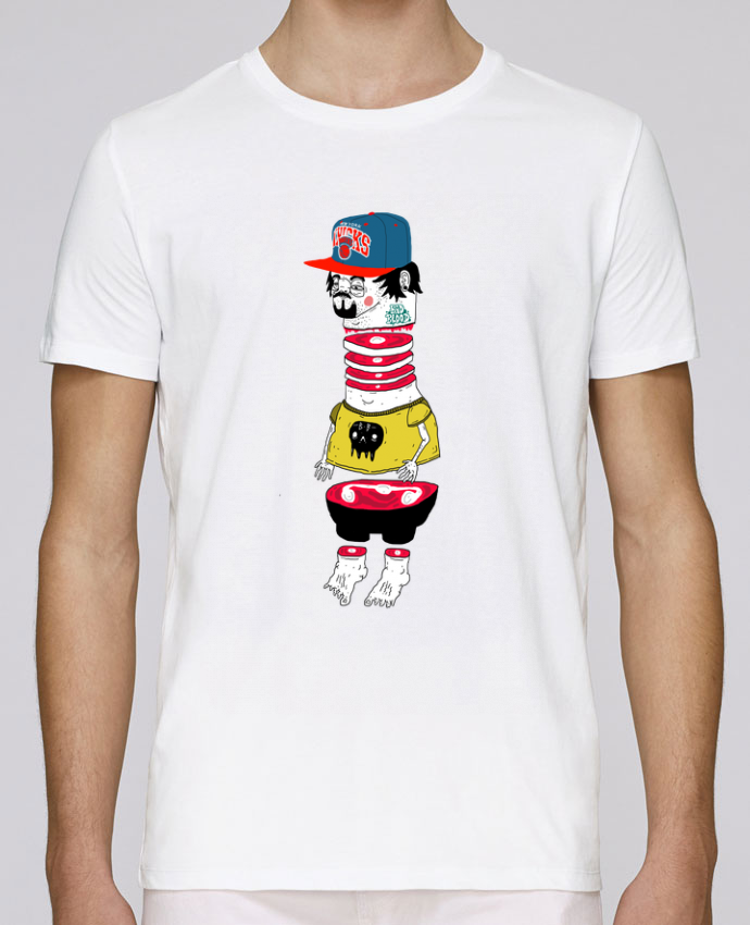 T-shirt crew neck Stanley leads Chopsuey by Nick cocozza