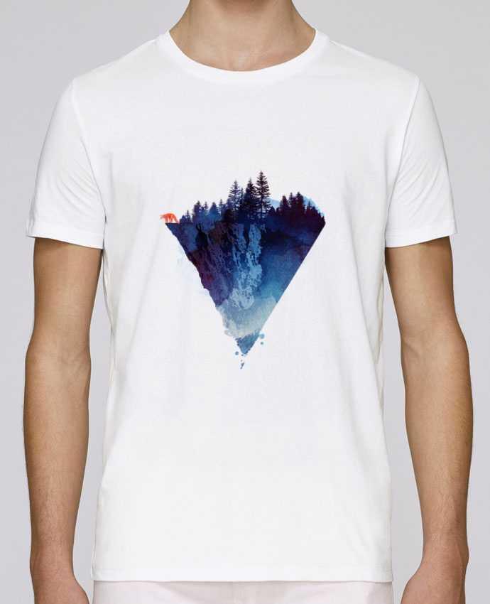 Unisex T-shirt 150 G/M² Leads Near to the edge by robertfarkas