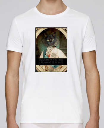 T-shirt crew neck Stanley leads King Cat by Tchernobayle