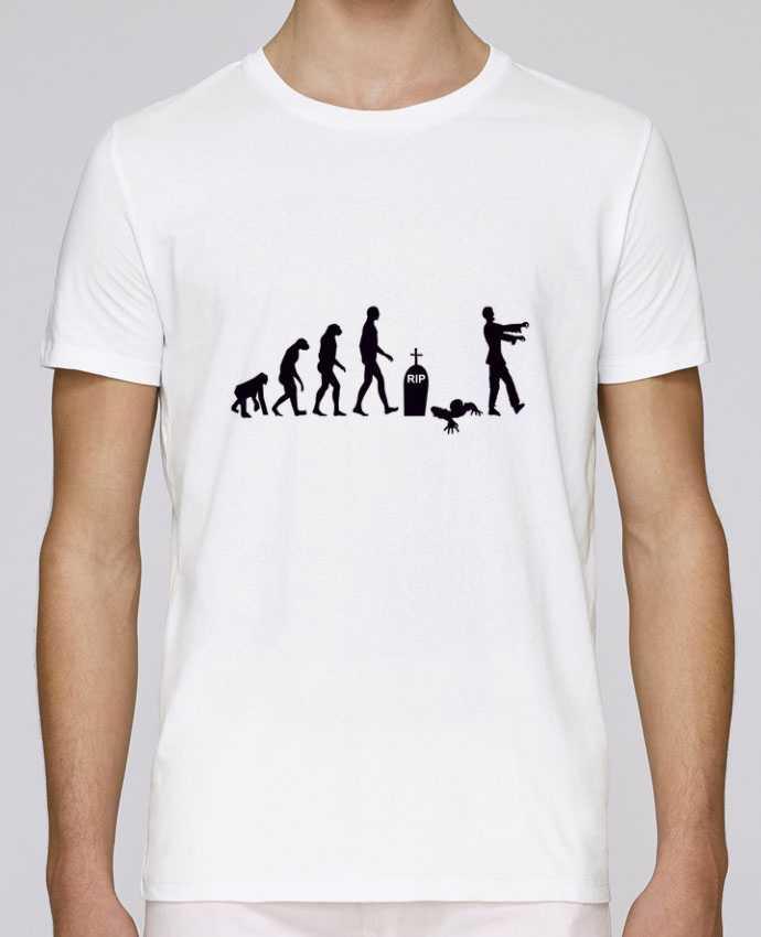 Unisex T-shirt 150 G/M² Leads Zombie évolution by Benichan