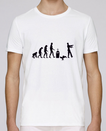 T-shirt crew neck Stanley leads Zombie évolution by Benichan