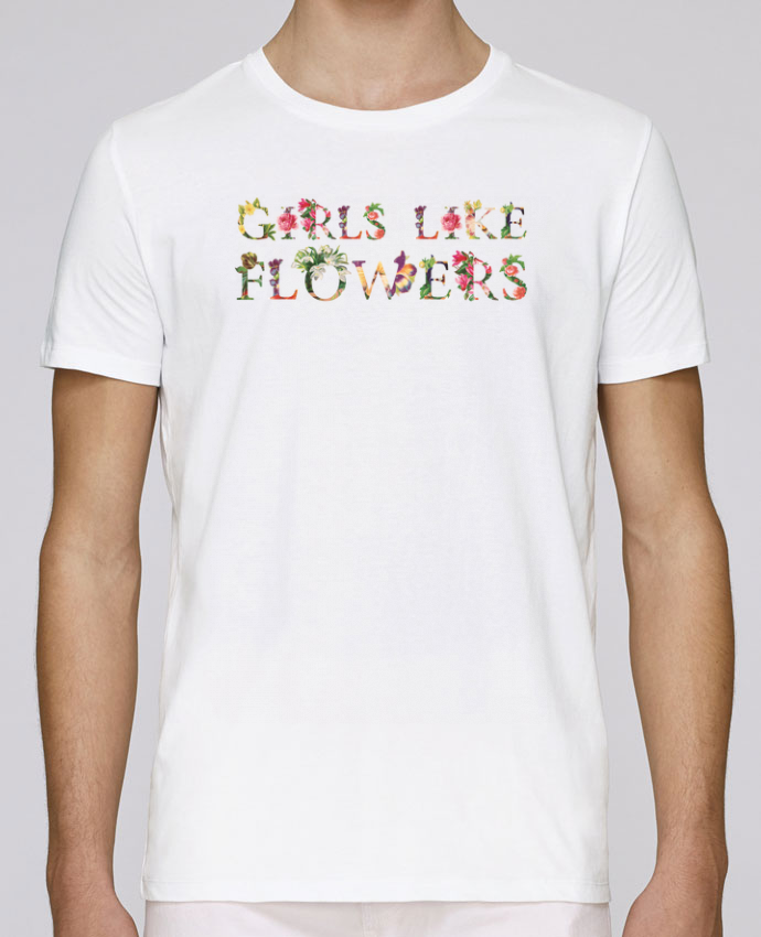 Unisex T-shirt 150 G/M² Leads Girls like flowers by tunetoo