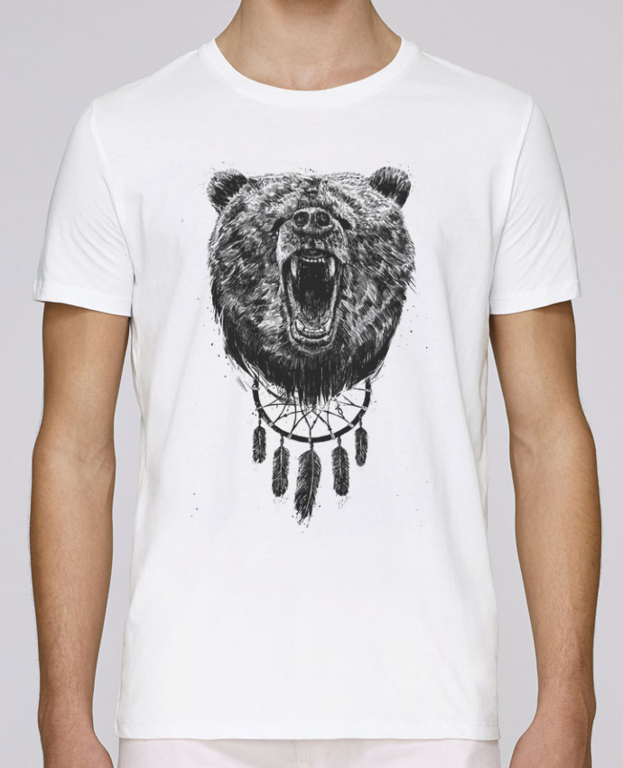 Unisex T-shirt 150 G/M² Leads dont wake the bear by Balàzs Solti