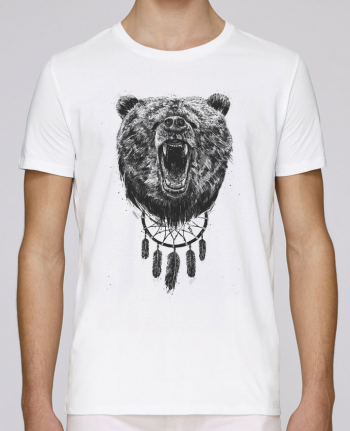 T-shirt crew neck Stanley leads dont wake the bear by Balàzs Solti