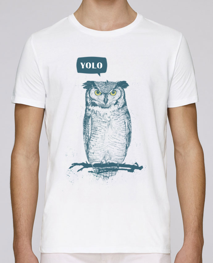 T-shirt crew neck Stanley leads Yolo by Balàzs Solti