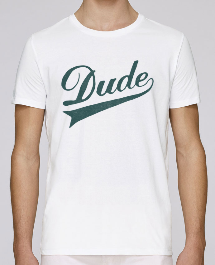 T-shirt crew neck Stanley leads Dude by Florent Bodart