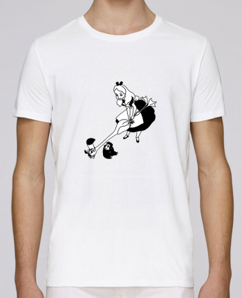 T-shirt crew neck Stanley leads Alice by tattooanshort