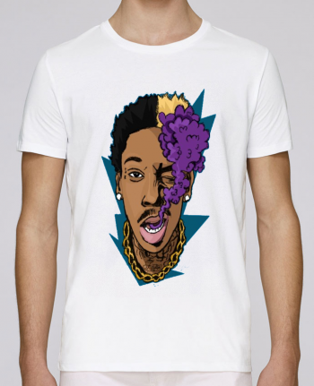 T-shirt crew neck Stanley leads Wizzy purple by Nitral
