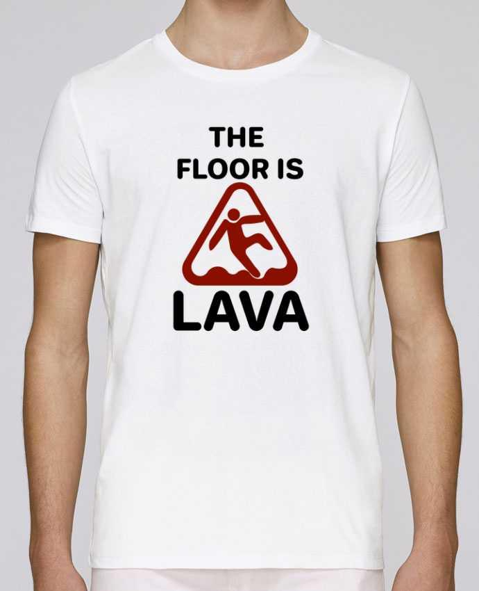 Unisex T-shirt 150 G/M² Leads The floor is lava by tunetoo