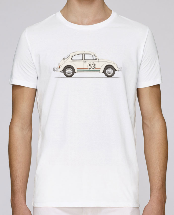 T-shirt crew neck Stanley leads Herbie big by Florent Bodart
