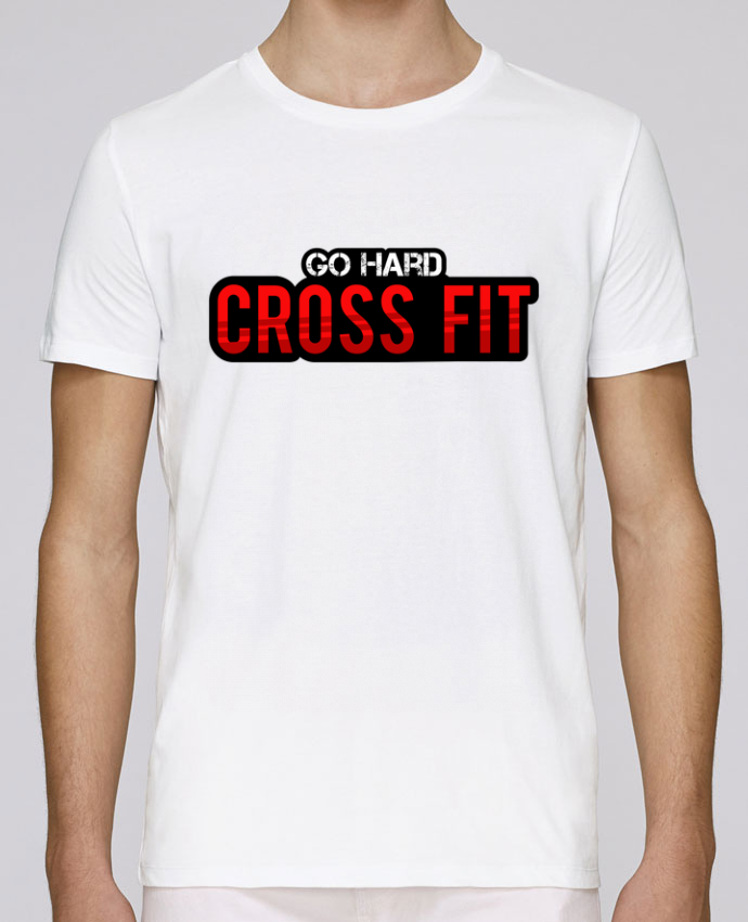 T-shirt crew neck Stanley leads Go Hard ! Crossfit by tunetoo