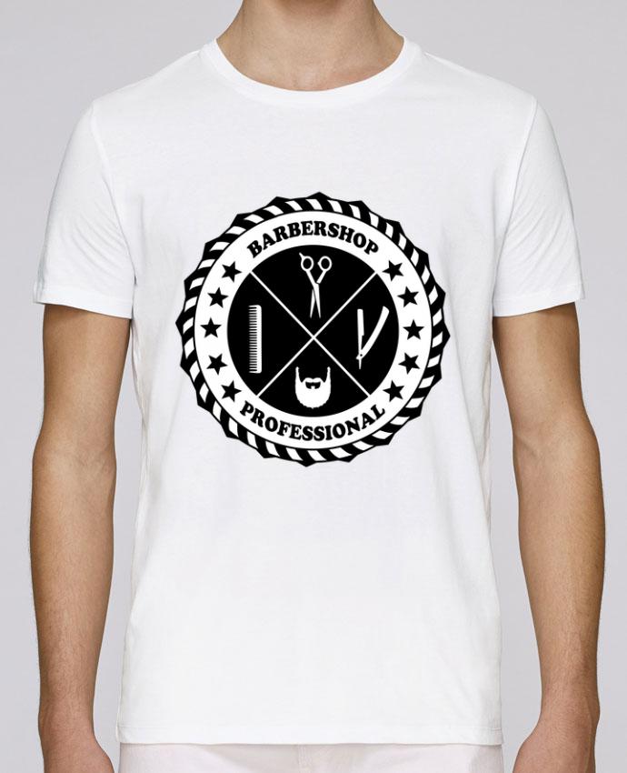 Unisex T-shirt 150 G/M² Leads BARBERSHOP BLASON by SG LXXXIII