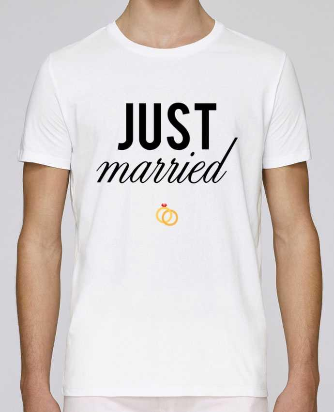 T-shirt crew neck Stanley leads Just married by tunetoo