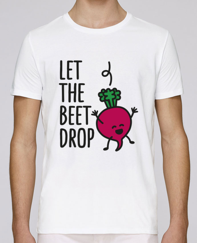 Unisex T-shirt 150 G/M² Leads Let the beet drop by LaundryFactory