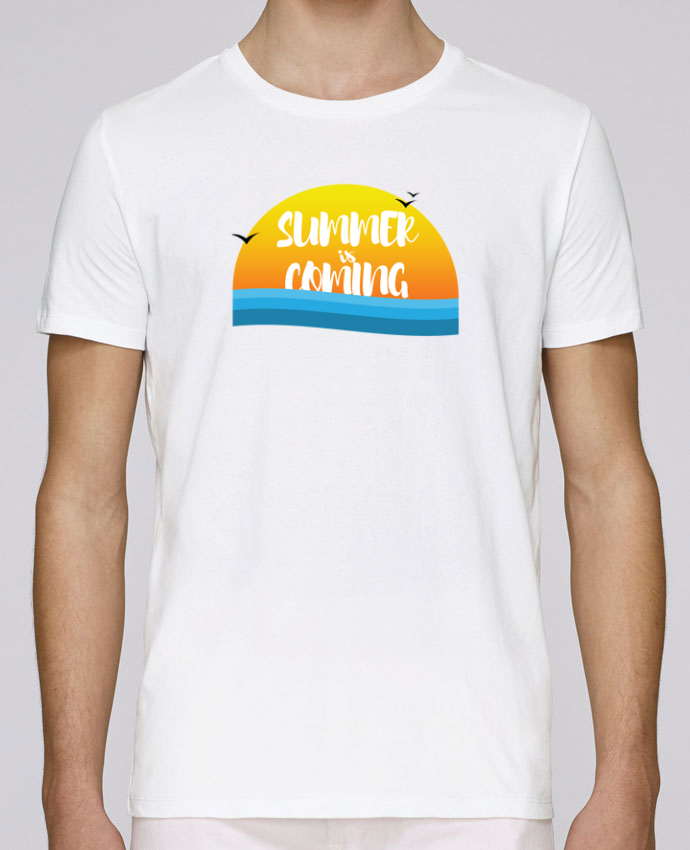 Unisex T-shirt 150 G/M² Leads Summer is coming by tunetoo