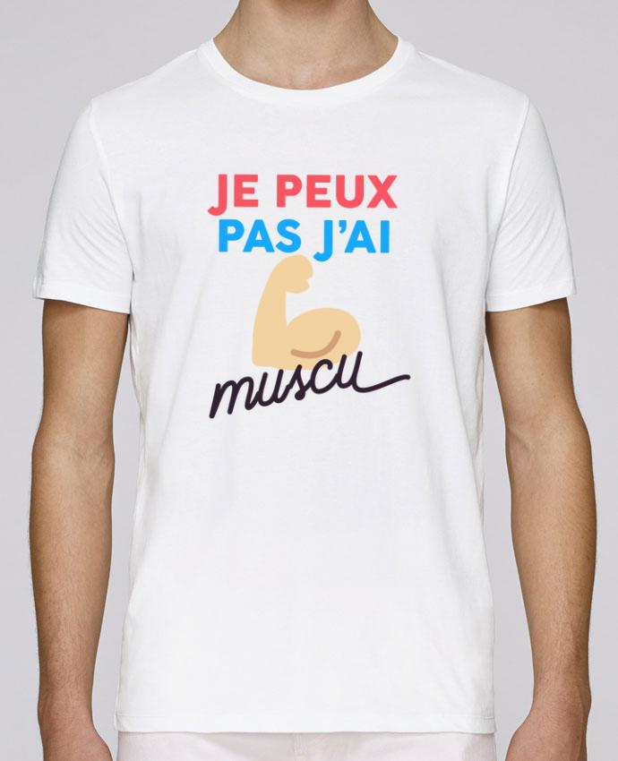 Unisex T-shirt 150 G/M² Leads je peux pas j'ai muscu by Ruuud