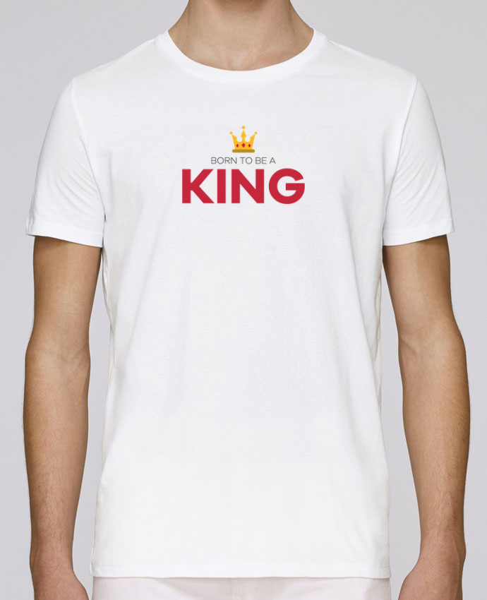 Unisex T-shirt 150 G/M² Leads Born to be a king by tunetoo