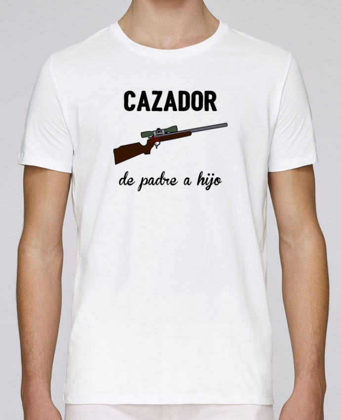 Unisex T-shirt 150 G/M² Leads Cazador de padre a hijo by tunetoo