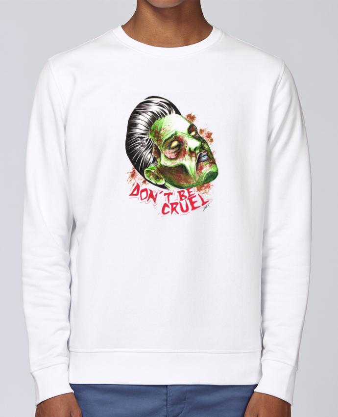 Unisex Sweatshirt Crewneck Medium Fit Rise Don\'t be cruel by david