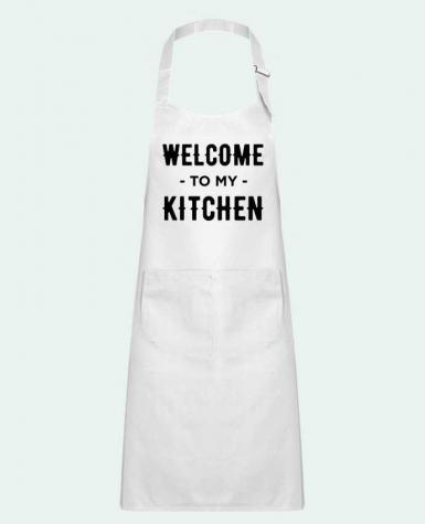 Kids chef pocket apron Welcome to my kitchen by tunetoo