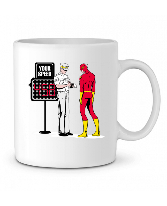 Ceramic Mug Speed Trap by flyingmouse365