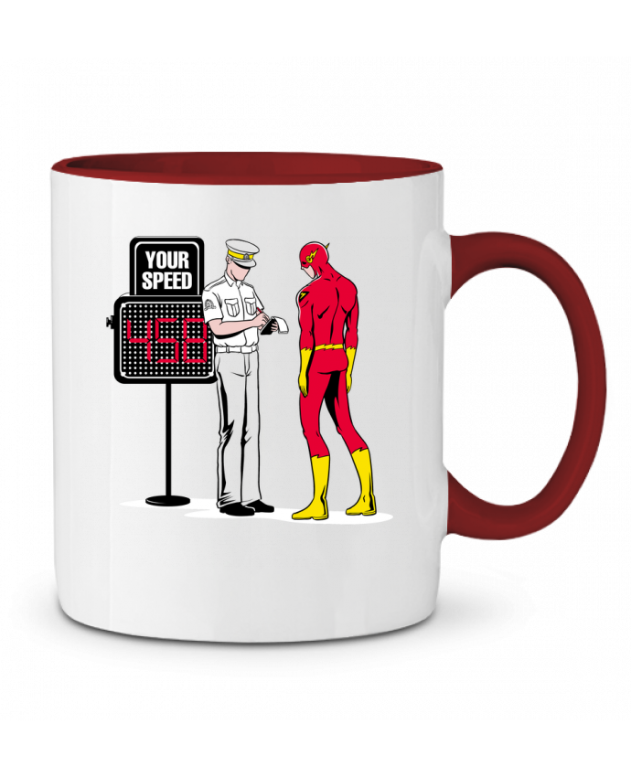 Two-tone Ceramic Mug Speed Trap flyingmouse365