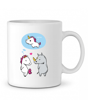 Ceramic Mug Perfect match by flyingmouse365