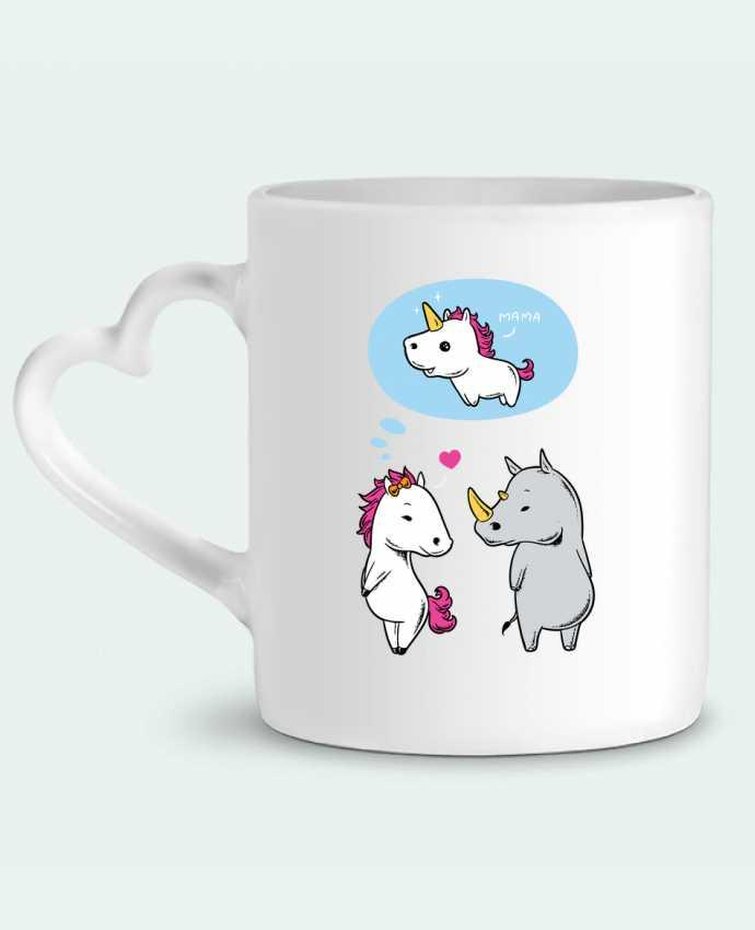 Mug Heart Perfect match by flyingmouse365