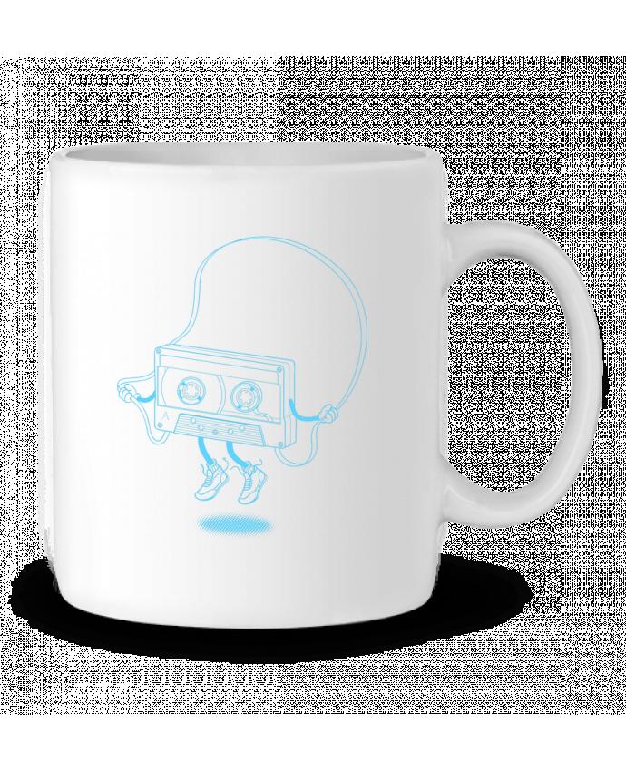 Ceramic Mug Jumping tape by flyingmouse365