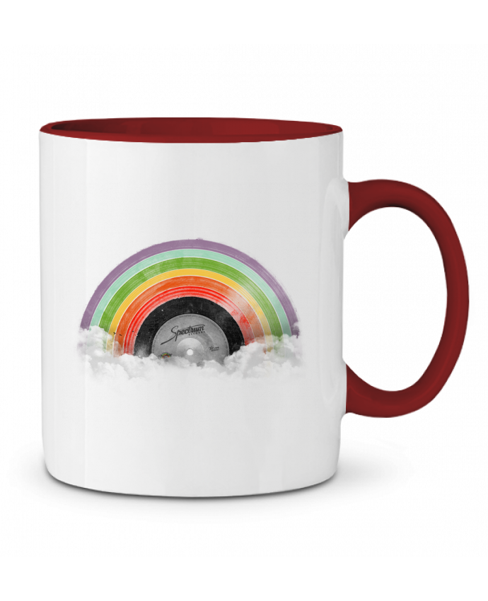 Two-tone Ceramic Mug Rainbow Classics Florent Bodart
