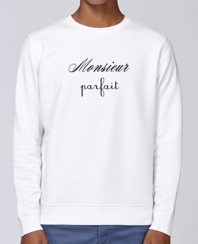 Unisex Sweatshirt Crewneck Medium Fit Rise Monsieur byfait by Les Caprices de Filles